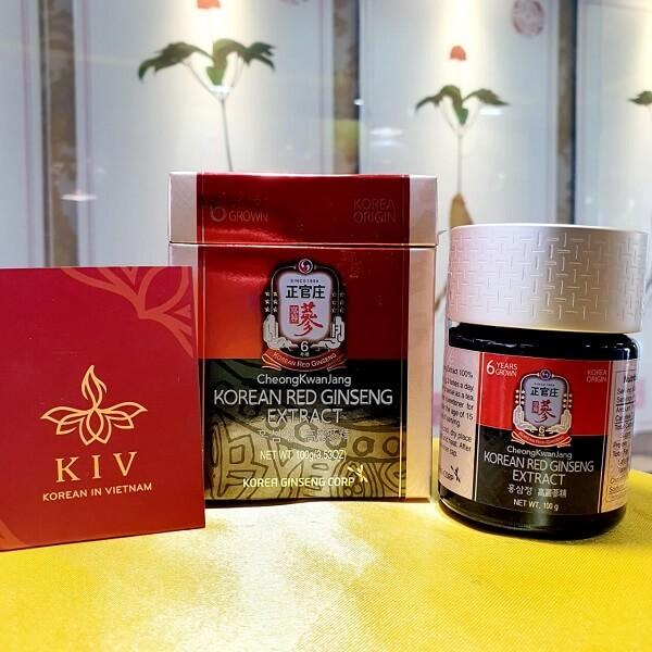 Cao hồng sâm KGC Extract 100g đậm đặc - Nhân sâm KIV